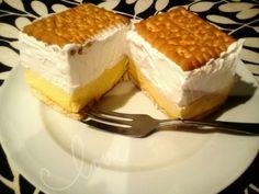 Villámgyors házi krémes - sütés nélkül! Recept képpel - Mindmegette.hu - Receptek Tiramisu, Waffles, Cheesecake, Sweets, Cookies, Breakfast, Ethnic Recipes, Food, Drink
