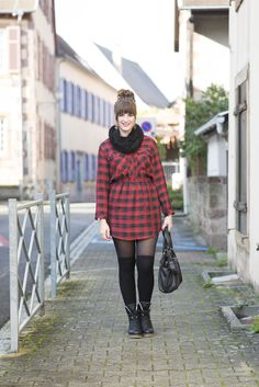 OUTFIT: Tartan Look in Saverne | andysparkles