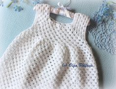 I'd like to share my free pattern for this simple crochet dress. It is very easy to make. It can be made in solid color or in multipl...