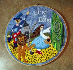 Dorothy in The Wizard of Oz - NEEDLEWORK