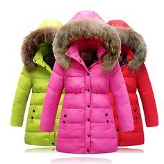 2017 Hot Sale Hooded Girls Boys Winter Coat Long Sleeve Boys ...