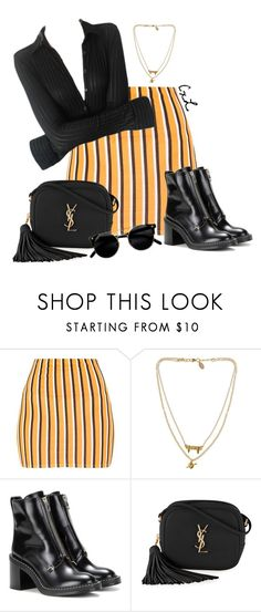 """""""Untitled #173"""" by clynnstyle ❤ liked on Polyvore featuring Bee Charming, rag & bone and Yves Saint Laurent"""