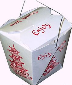 Green DIY: Transform Chinese takeout boxes into pretty paper lanterns (video) Chinese Food Take Out, Chinese Dinner, Chinese Christmas, Christmas Eve, Chinese Food Delivery, The Westing Game, Chinese Takeout Box, Oriental Wedding, Marina And The Diamonds