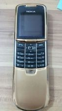 Gold Nokia 8800 2G LCD display Unlocked Cell Phone