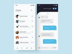 Direct Messaging UI concept by Victor Onwuzuruike