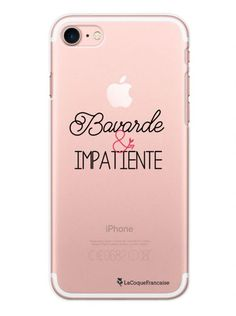 coque iphone 7 citation transparente
