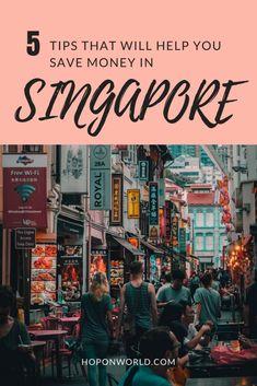5 tips that will help you save money in Singapore Headed to Singapore and looking for handy tips on stretching your dollars? Check out our 5 tips which will help you save money whilst still having a great trip to the Lion City. Singapore Travel Tips, Singapore Itinerary, Visit Singapore, Singapore Map, Singapore Sling, Kuala Lumpur, Penang, Budget Planer, Bhutan