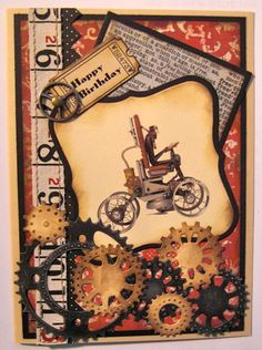 Steampunk Embellishments   Paper Whims – Steampunk Birthday