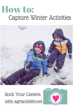 Before you head out to play in the snow, make sure you know how to photograph all those winter activities!