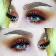 "210 Likes, 4 Comments - @helenesjostedt on Instagram: ""Spark ⚡️ I used: @limecrimemakeup Venus ll, Venus XL and pocket candy sugar plum 