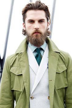 #beard hey now! Mens fashion styles. Hair #facial hair #beards #moustache #goodlooking. Cute #love