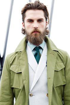 The beard!