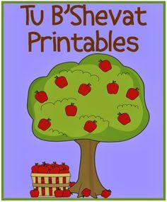 FREE Tu B'Shevat Printables