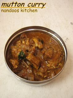 Mutton curry / Mutton with coconut milk | Yummy Recipes