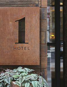1 Hotel Branding on Behance