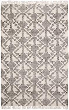 Patrón De Diseño Geométrico Triángulo Naranja Blanco Gris Interior Tela de tapicería