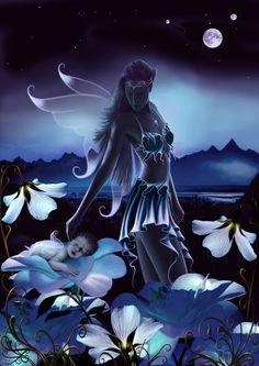 Sweet Dreams Precious One by *DragonDew on deviantART