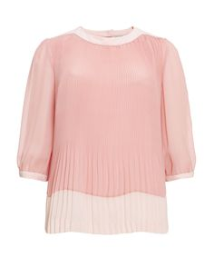 Ted Baker Emmii Micro Pleat Top