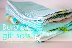 burp cloth tut