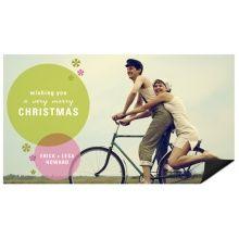 Stylish and Flashy -- Magnet Christmas Cards