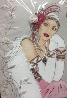 Super Ideas For Art Nouveau Woman Drawing Beautiful Retro Poster, Vintage Posters, Vintage Art, Vintage Ladies, Vintage Woman, Art Deco Illustration, Moda Art Deco, Art Deco Cards, Art Cards
