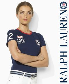 Kudos to Ralph Lauren for cleverly avoiding Olympic copyright infringement and making a cute shirt in the process!