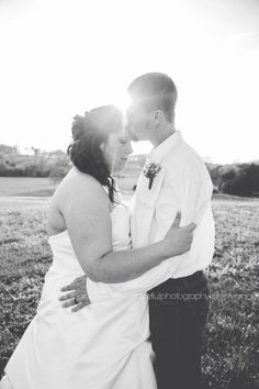 Gorgeous country wedding photo