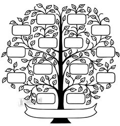 Family Tree Coloring Page Best Of Family Tree Image for the Living Room Wall Family Tree Images, Family Tree Art, Free Family Tree, Family Tree Drawing, Tree Coloring Page, Coloring Pages, Tree Stencil, Stencils, Tree Svg