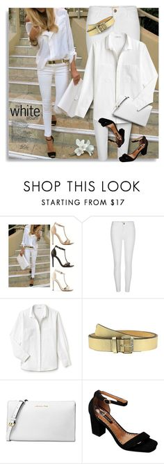 """When you feel good, you look good."" by breathing-style ❤ liked on Polyvore featuring River Island, Lacoste, MICHAEL Michael Kors and Michael Kors"