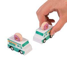 Donut Party Pullback Trucks - OrientalTrading.com