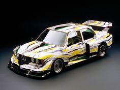 BMW art-cars. 1977. Roy Lichtenstein