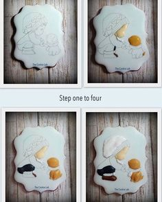 "451 Likes, 11 Comments - The Cookie Lab - Marta Torres (@thecookielab) on Instagram: ""How did I make it?  Step 1 to 4 An easy cookie for you. #thecookielab #royalicing…"""