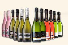 12-Bottle Prosecco & Cava Case