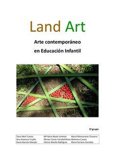 Arte en la naturaleza dirigido a la escuela