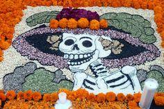 Amazing Tapete for Dia de los Muertos