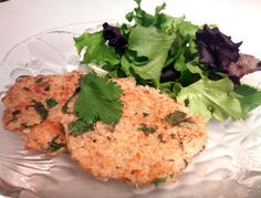 Quinoa salmon patties