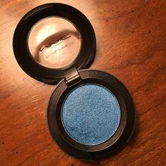 "MAC eye shadow ""Freshwater"". Glittery blue color MAC Cosmetics Makeup Eyeshadow"