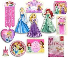 Disney Princess Ultimate Party Kit - (96 Pieces) Party In...