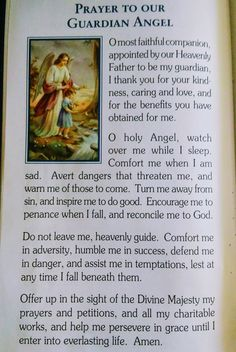 Powerful prayer to Our own Guardian Angel If you pray this everyday you can be assured protection Only takes 2 minutes Guardian Angel Prayer Catholic, Catholic Prayer For Healing, Catholic Prayers In Spanish, Spiritual Prayers, Prayers For Healing, Guardian Angels, Lent Prayers, Novena Prayers, Special Prayers