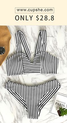 New Arrivals! Give this summer even hotter, baby! Only $28.80 to make vintage bikini dream come true. Keep the beauty and fashion, give it more comfort and better quality, exactly is the style of this cute piece. Shop Now!