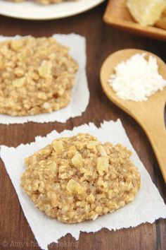 The BEST oatmeal cookies you'll ever make! They stay soft & chewy for an entire week. You can't even tell they're healthy!