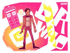 {Doctor Who : 11} by Dan Hipp