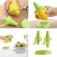 1 Set Kitchen Accessories Creative Lemon Sprayer Fruit Juice Citrus Lime Juicer Spritzer Kitchen Gadgets Goods for The Kitchen.Q - Products I Love - Kitchen Tools Citrus Lemon, Citrus Juice, Citrus Fruits, Orange Juice, Kitchen Tools, Kitchen Gadgets, Kitchen Stuff, Kitchen Products, House Gadgets