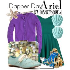 """Ariel"" by leslieakay on Polyvore"