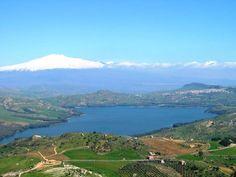 Pergusa lake (EN), Sicily.