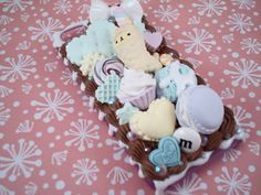 Sweet Deco Cotton Candy Love Kawaii Decoden Case by Lucifurious, $42.00
