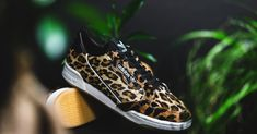 """Now Available: adidas Continental """"Leopard"""" — Sneaker Shouts Leopard Sneakers, Grey Sneakers, Adidas Zx, Kanye West Hat, Adidas Originals, Hip Hop Sneakers, Black White, Black Gums"""