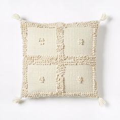 Commune Temoayan pillow cover. West Elm.