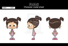Farah model sheet by ~X-Factorism on deviantART  blueprint model sheet