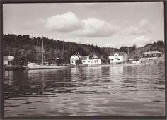 Fredrikstad Kråkerøy. Trolldalen. Losbåt. U.utg. St Fr.stad -1955.